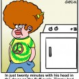 Afro cartoon