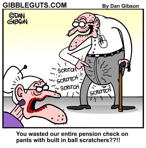 old man pants