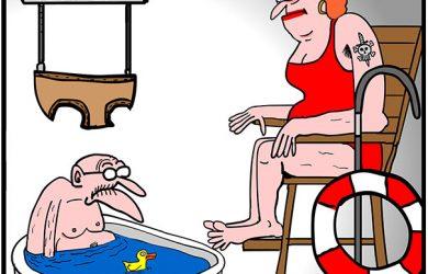 bath time cartoon