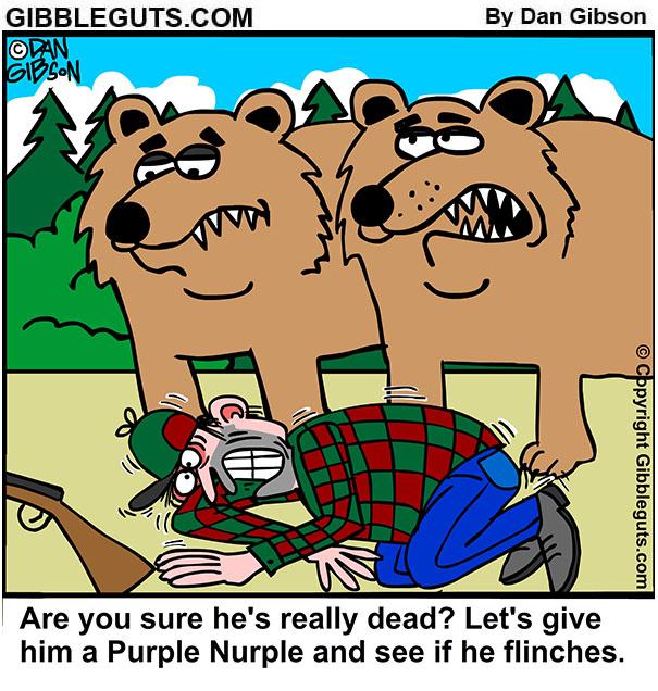 hunter cartoon