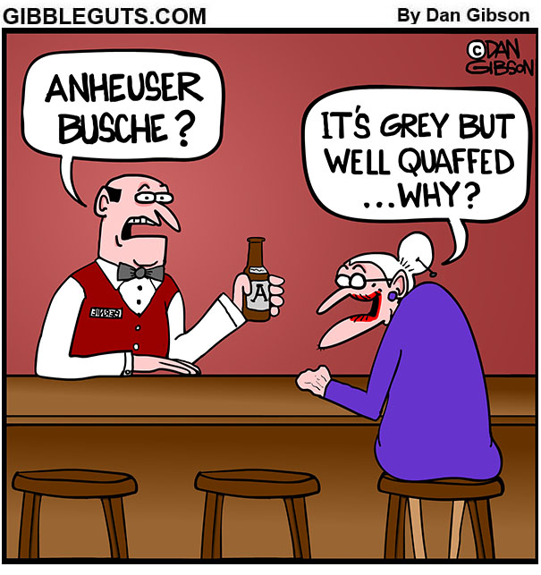 bartender question cartoon