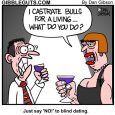 blind date cartoon