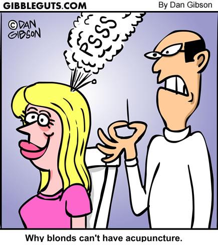 blonde cartoon from Gibbleguts.com