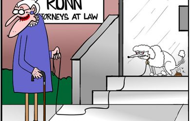 lawyer office cartoon