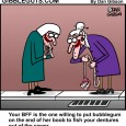 dentures cartoon