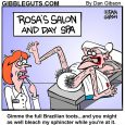 spa day cartoon