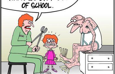 berta cartoon