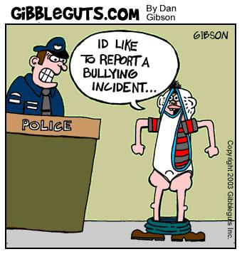 Bully cartoon