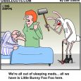sleeping pills cartoon