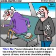 public transit cartoon