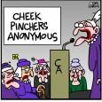 cheek pincher
