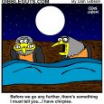 birds in bed cartoon