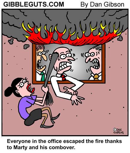 combover cartoon from Gibbleguts.com