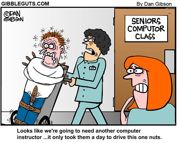 Seniors computer instructor
