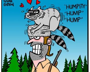 davey crackett cartoon