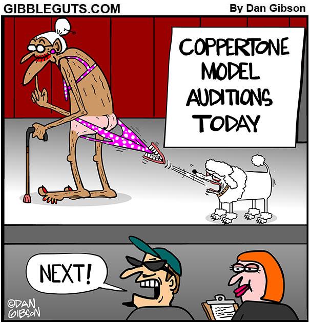 coppertone tille cartoon