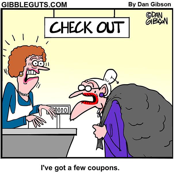 coupon cartoon