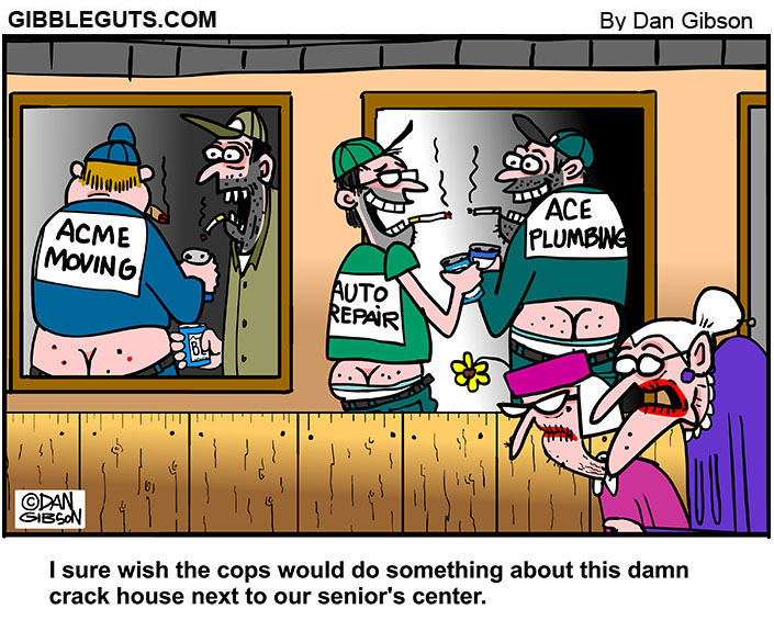 Crack House Cartoon