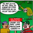 cranky old man cartoon