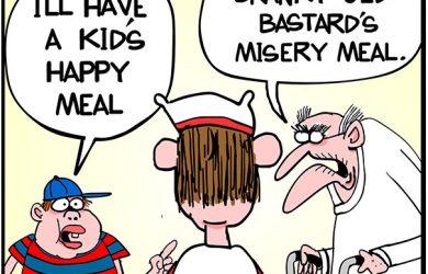 Happy Meal cartoon