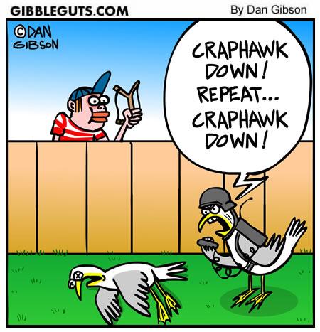 seagull cartoon from Gibbleguts.com