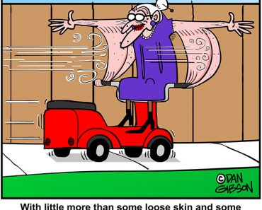 loose skin cartoon