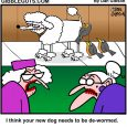 dog worms cartoon