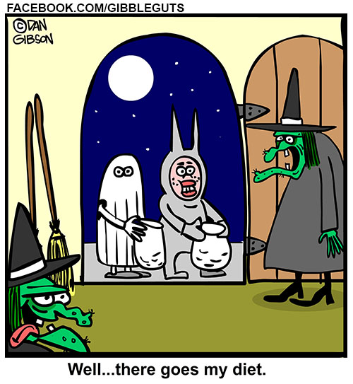 halloween witch cartoon