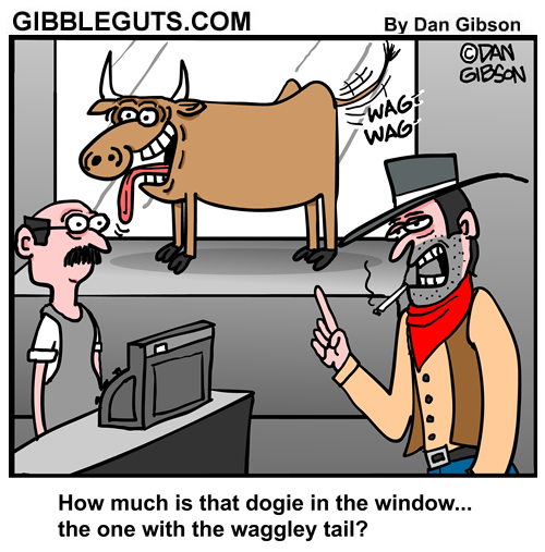 cowboy dogie cartoon