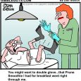 double glove cartoon