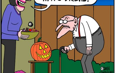 halloween dr.evil cartoon