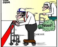 drag racing cartoon