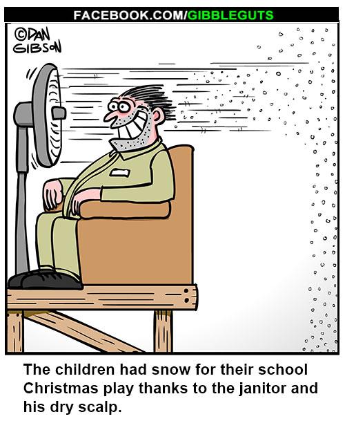 Christmas play cartoon