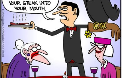 restaurant cartoon
