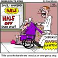 hand brake cartoon