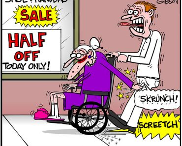 hand brake cartoon
