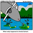 emelia earhart cartoon