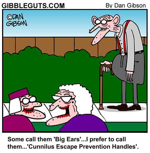 big ears cartoon
