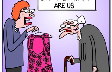 old lady hump cartoon