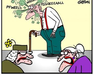 fart remedy cartoon