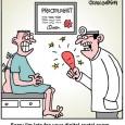 finger slam cartoon