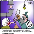 plumbing cartoon