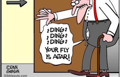 open fly cartoon
