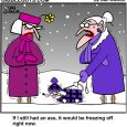 cold weather cartoon