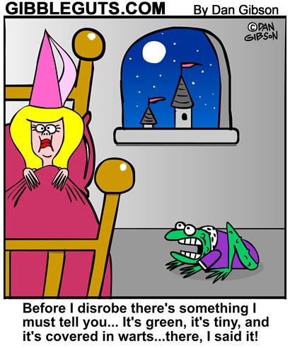 princess and a frog cartoon
