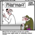 laxative cartoon