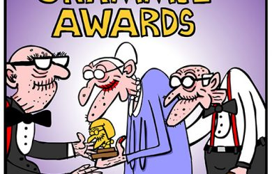 grammy awards cartoon