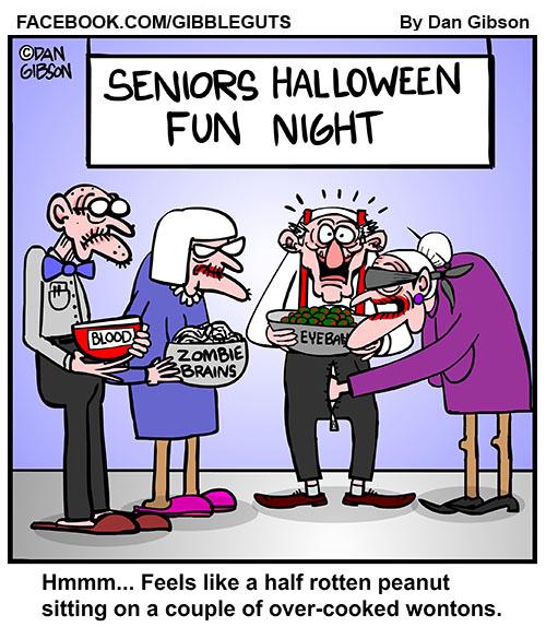 Seniors halloween