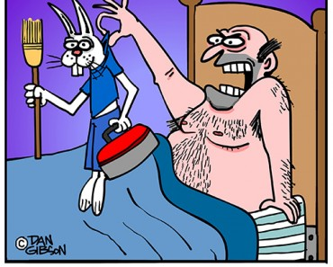 hair curler cartoon