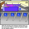 handicap parking cartoon